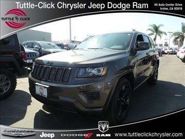 2015 Jeep Grand Cherokee for sale in Irvine CA