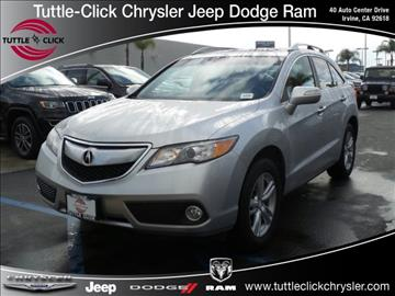 2013 Acura RDX for sale in Irvine, CA