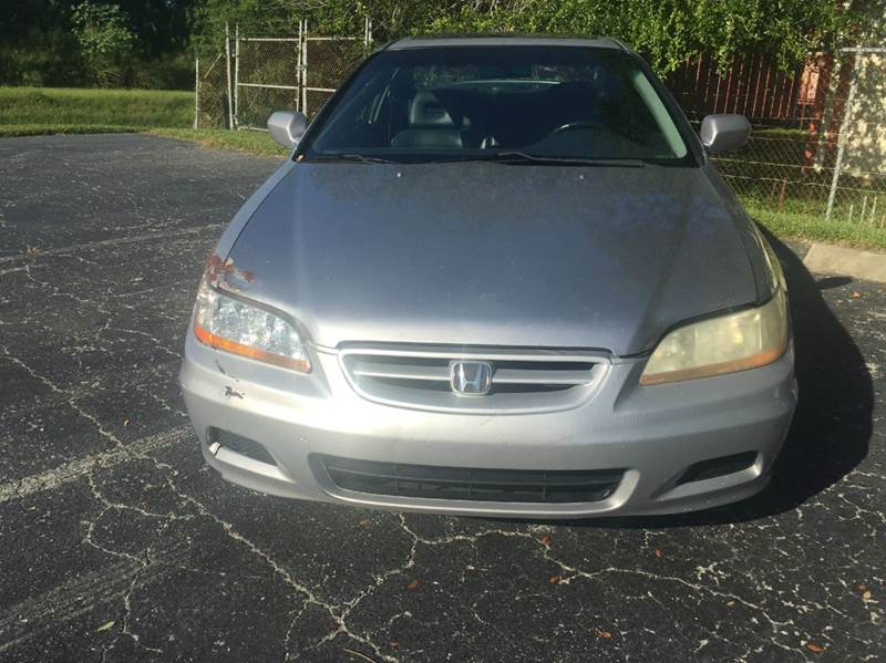 2001 Honda Accord EX 2dr Coupe w/Leather - Clearwater FL