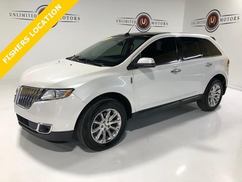 2012 Lincoln Mkx For Sale In Fishers In