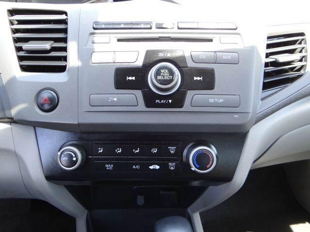 2012 Honda Civic LX 4dr Sedan 5A - Santa Ana CA