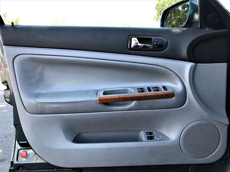 2000 Volkswagen Passat GLX V6 AWD 4dr 4Motion Sedan - Santa Ana CA