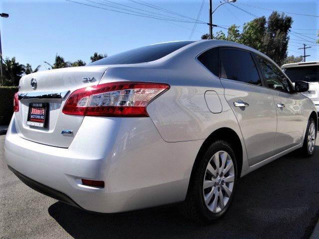 2014 Nissan Sentra SV 4dr Sedan - Santa Ana CA