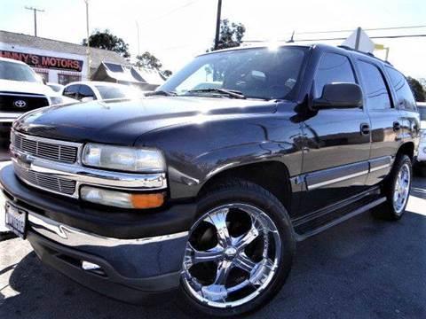 2005 Chevrolet Tahoe for sale in Santa Ana, CA