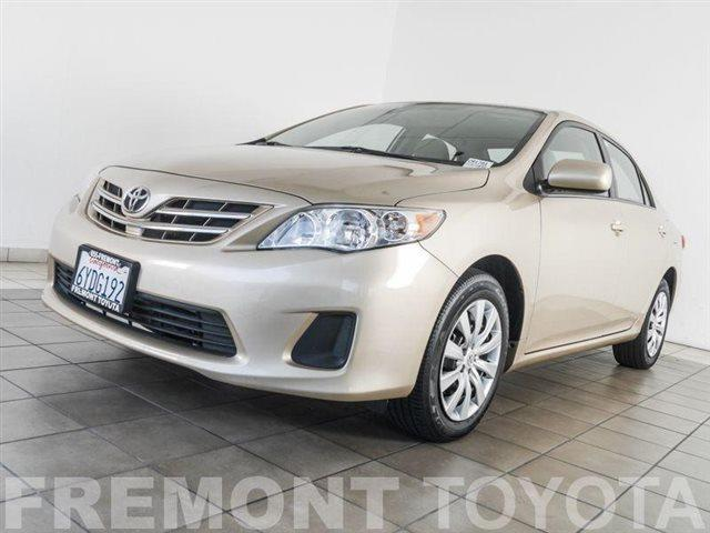 2013 Toyota Corolla for sale in Fremont CA