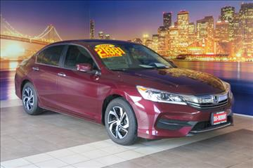 2016 Honda Accord for sale in Fremont, CA