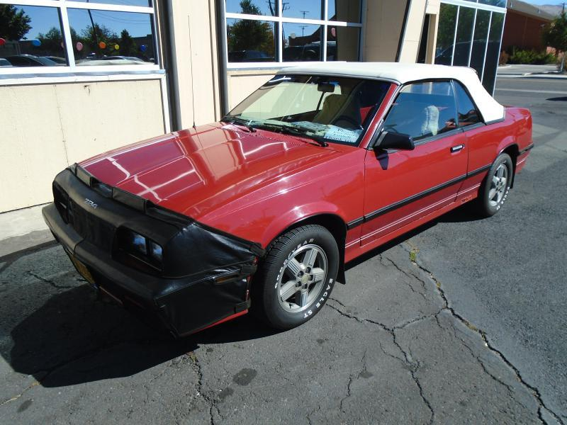 1986 Chevrolet Cavalier RS 2dr Convertible - Klamath Falls OR
