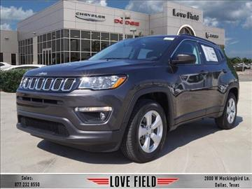 2017 Jeep New Compass for sale in Dallas, TX