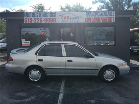 1999 Toyota Corolla for sale in Nashville, TN