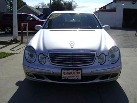 2005 Mercedes-Benz E-Class for sale in Hammond, IN