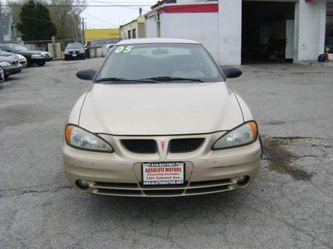 2005 Pontiac Grand Am for sale in Hammod, IN