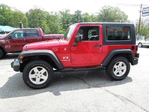 2007 Jeep Wrangler for sale in Johnston, RI