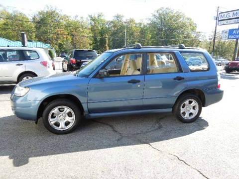 2007 Subaru Forester for sale in Johnston, RI