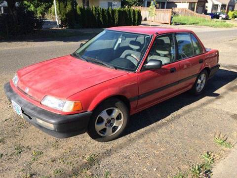 1991 honda civic for sale. Black Bedroom Furniture Sets. Home Design Ideas
