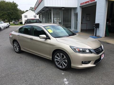 2014 Honda Accord for sale in Uxbridge, MA