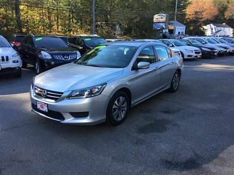 2015 Honda Accord for sale in Uxbridge, MA