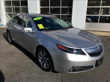 2013 Acura TL for sale in Uxbridge, MA