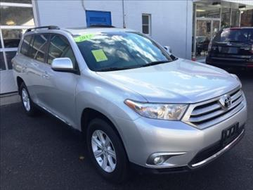 2013 Toyota Highlander for sale in Uxbridge, MA