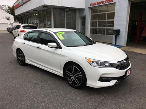 2017 Honda Accord for sale in Uxbridge, MA