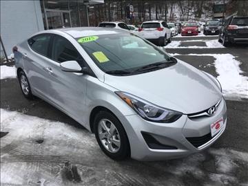 2015 Hyundai Elantra for sale in Uxbridge, MA