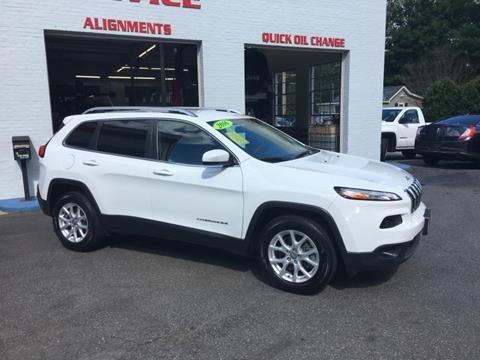 2016 Jeep Cherokee for sale in Uxbridge, MA
