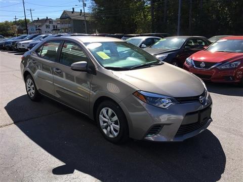 2016 Toyota Corolla for sale in Uxbridge, MA