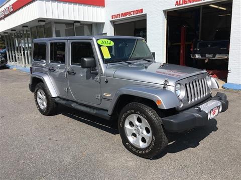 2014 Jeep Wrangler Unlimited for sale in Uxbridge, MA