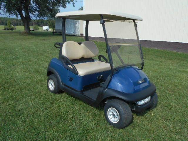 2008 Club Car Precedent Blue Golf Cart