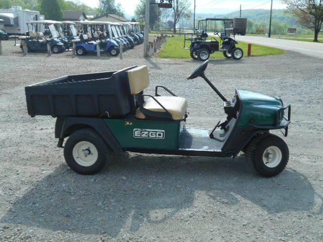 2010 EZ-GO Utility Dump Cart MPT Golf Cart