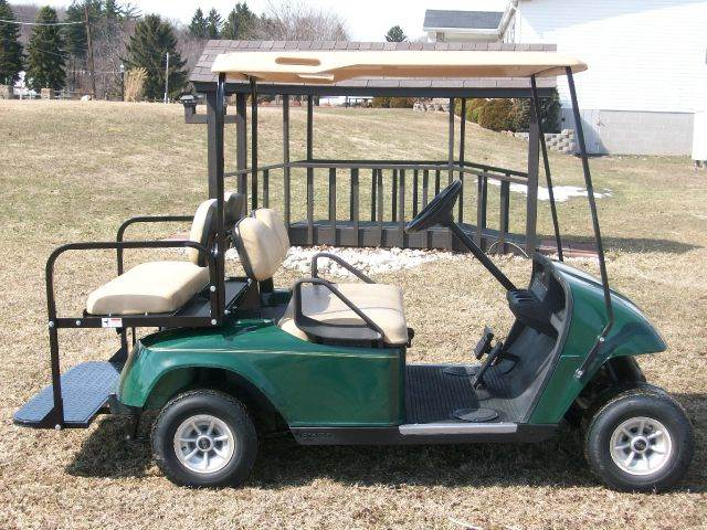 2005 EZ-GO TXT Gas With Rear Seat 4 Passenger Golf Cart