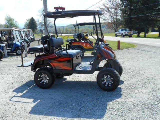 2010 EZ-GO RXV Lifted Golf Cart