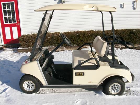 2009 Club Car DS Golf Cart Electric 2 Seater