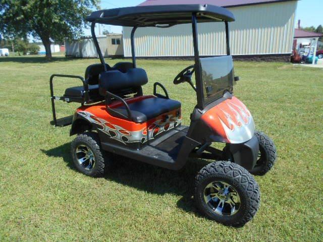 2010 EZ-GO Lifted Golf Cart 4 Passenger