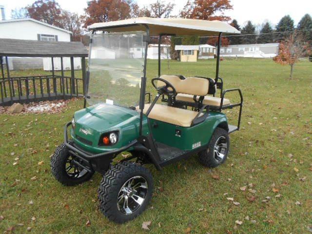 2012 EZ-GO Lifted Golf Cart S4 Four Passenger