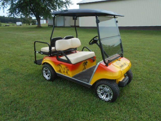 2006 Club Car Custom Beach Cart 4 Passenger Golf Cart