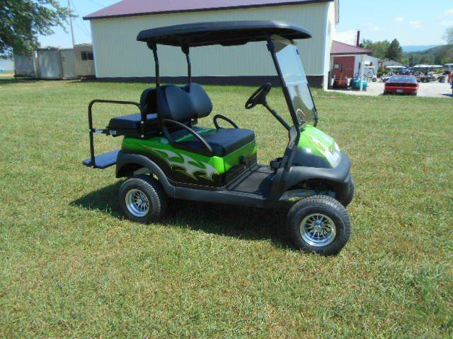 2006 Club Car Lifted Golf Cart 4 Seater Precedent