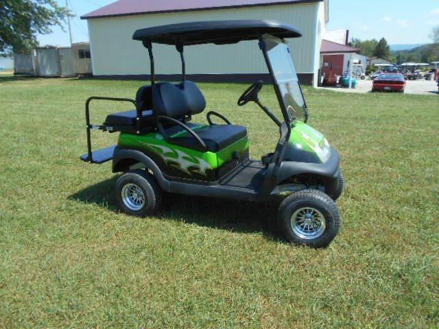 2006 Club Car Lifted Golf Cart 4 Seater Precedent