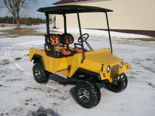 2014 Jeep Golf Cart Custom Golf Cart with a Jeep Body