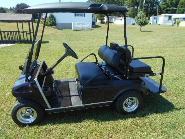 2006 Club Car Custom Golf Cart 4 Passenger