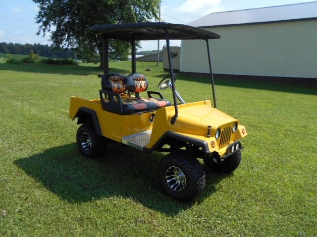 2015 Customized Jeep Golf Cart Golf Cart with Jeep like Body