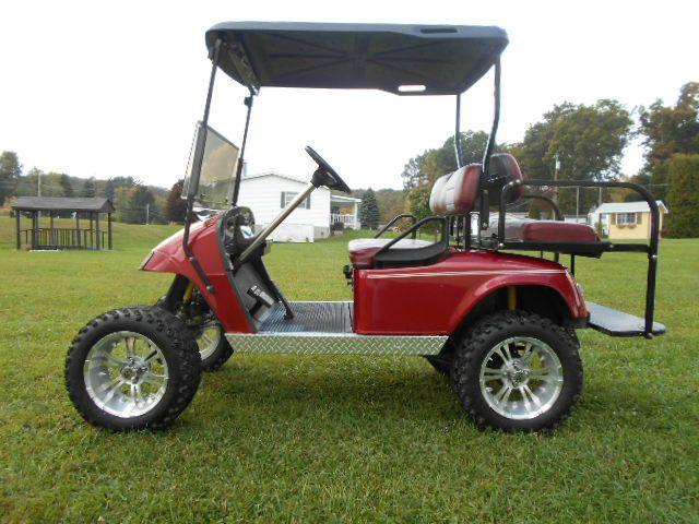 2007 EZ-GO Lifted Custom Golf Cart