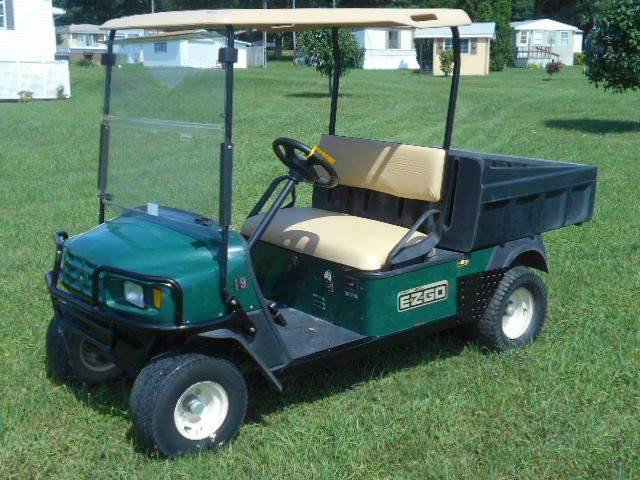 2009 EZ-GO Dump Golf Cart MPT 1200 Utility Cart