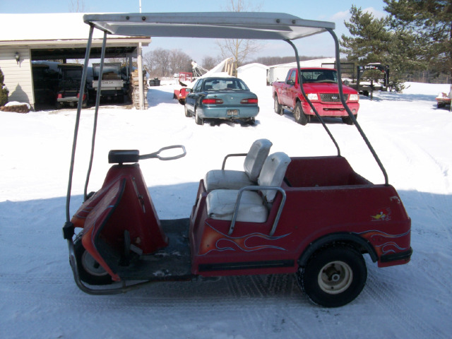 1980 Harley Davidson Golf Cart Gas, 3 Wheeled Golf Cart