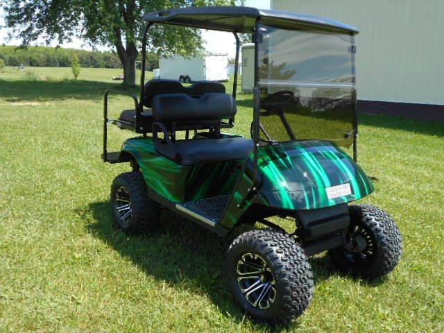 2007 EZ-GO Lifted Golf Cart Gas TXT 4 Passenger