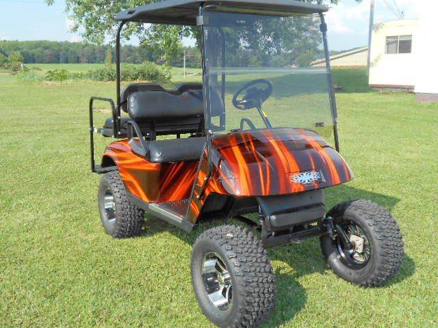 2006 EZ-GO Lifted Golf Cart 4 Passenger TXT