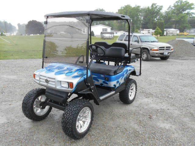 2007 EZ-GO Lifted Golf Cart ST, Sport Model