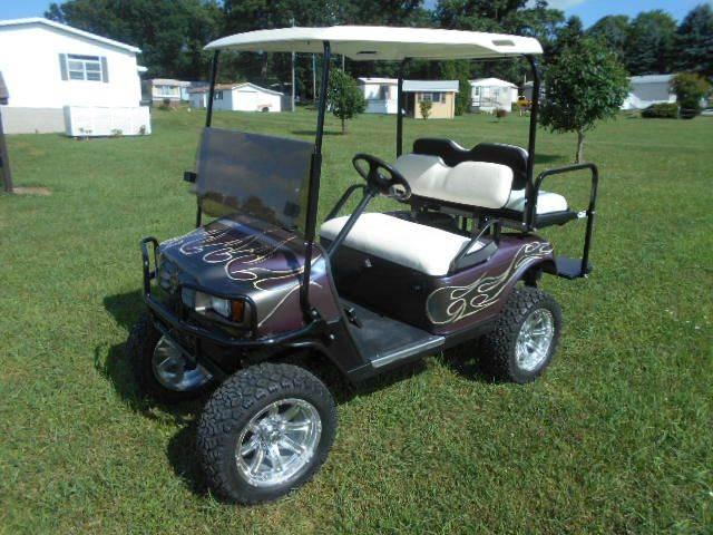 2007 EZ-GO Sport Golf Cart Lifted 4 Passenger