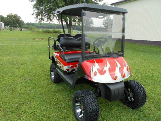 2008 EZ GO  RXV Lifted Golf Cart Gas 4 Passenger