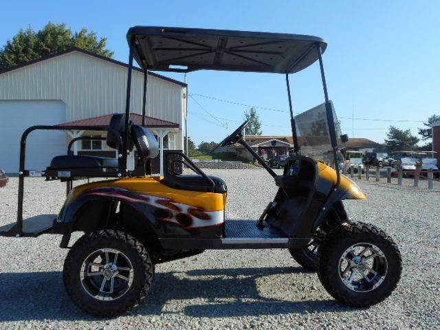 2006 EZ-GO Custom Lifted  Golf Cart 4 Passenger