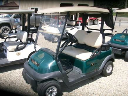 2009 Club Car Precedent   Golf Cart 48 Volt 2 Passenger Cart